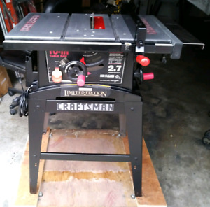 Craftsman Limited Edition Table Saw