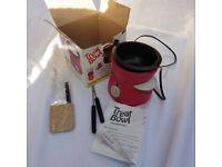 Treat Bowl pink mini fondue set