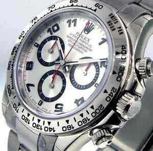 Rolex White Gold Daytona
