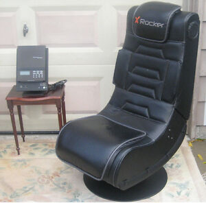 Leather Stereo Chair / rocker