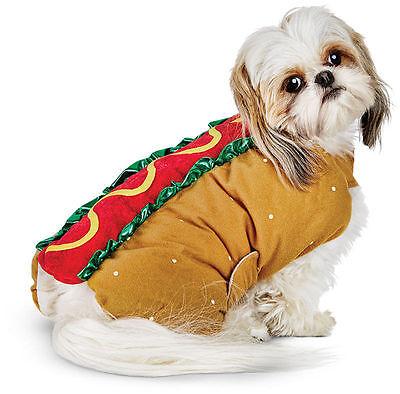 Bootique Franken Weiner Hot Dog Halloween Costume Dachshund All Dogs XS M New (Halloween Weiner Dog)