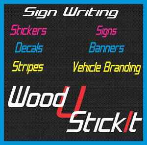 Sign Writing Signs | Stickers Decals Banners Aluminium Print Bibra Lake Cockburn Area Preview