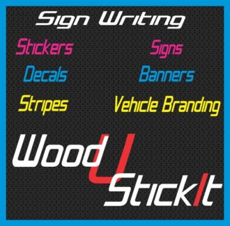 Sign Writing Signs | Stickers Decals Banners Aluminium Print