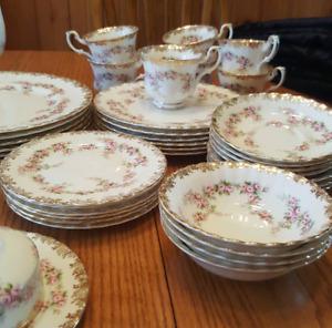 Royal Albert dimity Rose china