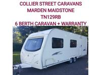 2008 Avondale Arrow 630 6 berth caravan twinaxel