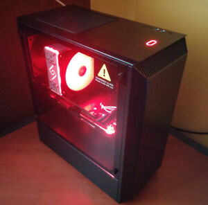 PC JEUX : i7-8700 - STRIX 1080 OC - 16GB RAM - 258SSD - HDD