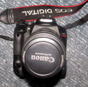 Canon EOS T2i camera with Canon 75-300mm lens
