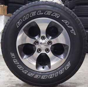 """18"""" Rims and Tires for Jeep Wrangler"""