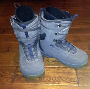 PERFECT PAIR SIZE 12 Mens AIRWALK SNOWBOARD BOOTS SEE VIDEO