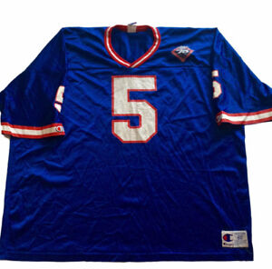 Vintage New York Giants Kerry Collins Jersey by Champion Rare
