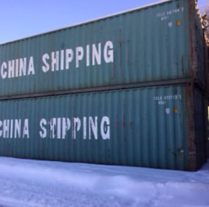 """NEW YEAR CONTAINER SALE. 40' 9'6"""" high shipping containers-$3200"""