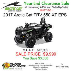 New 2017 Arctic Cat Alterra TRV 550 XT EPS