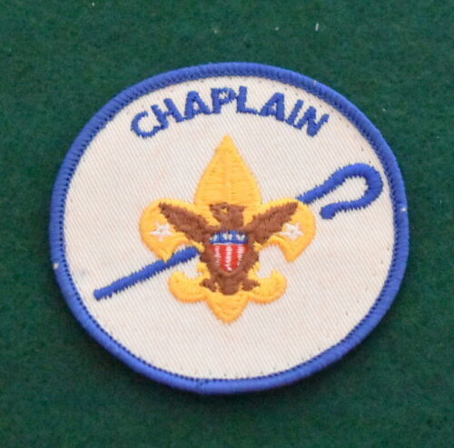 BOY SCOUT ADULT POSITION PATCH - CHAPLAIN