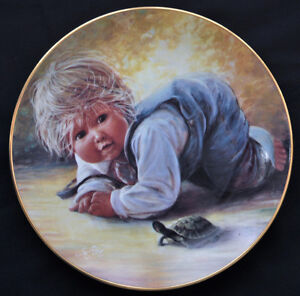 "Plates ""Playful Memories"" Sue Etem Kitchener / Waterloo Kitchener Area image 3"