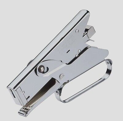 New Arrow P22 Plier Stapler Staple Gun Chrome Heavy Duty Uses 14-516 Staples