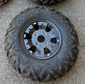4 x Almost brand New | BIG HORN 2.0 ATV/RTV Tires & Wheels | 12""
