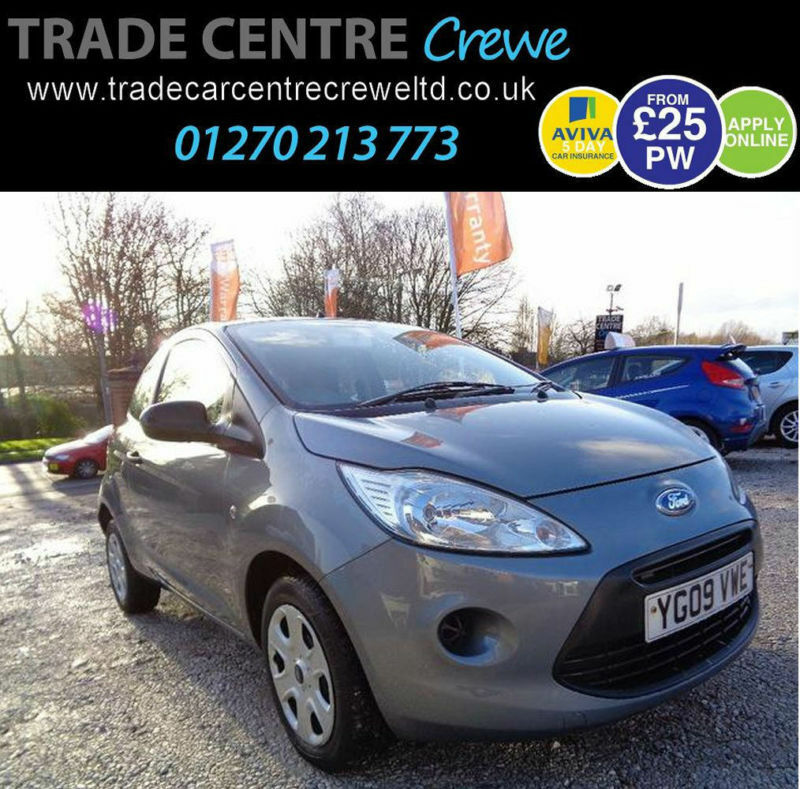 Ford Ka   Studio Petrol Manual Grey Car Finance From  Per Week