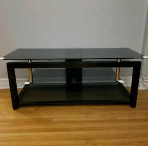 """TV Stand from Init - TVs Up to 55"""" - Black"""