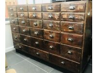 "❌❌WANTED❌❌""OLD SHOP INTERIORS HABERDASHERY DISPLAY CABINETS Antique vintage retro"