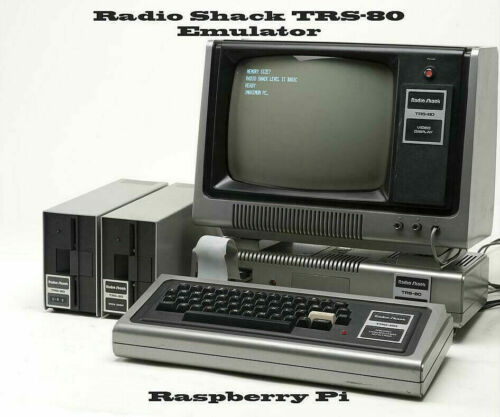 Radio Shack TRS 80 ~ Raspberry Pi Emulator, with Large Software Collection