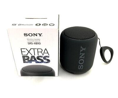 Sony SRS-XB10 Portable Wireless Bluetooth EXTRA BASS Speaker SRSXB10 Black