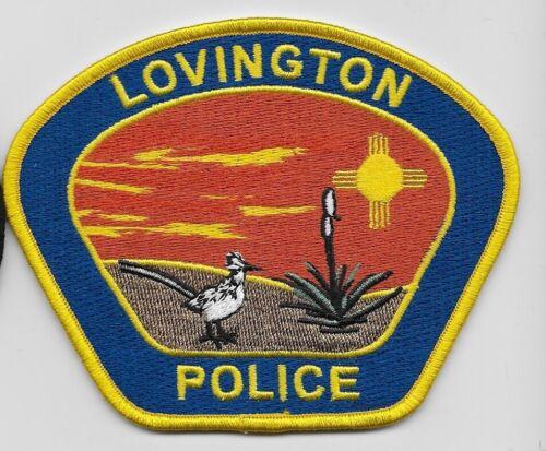 Colorful Lovington Police State New Mexico NM