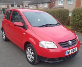 2010 VW URBAN FOX 55 1.2 3dr RED *FSH* *NEW MOT* *ONLY 22K MILES* HPI CLEAR