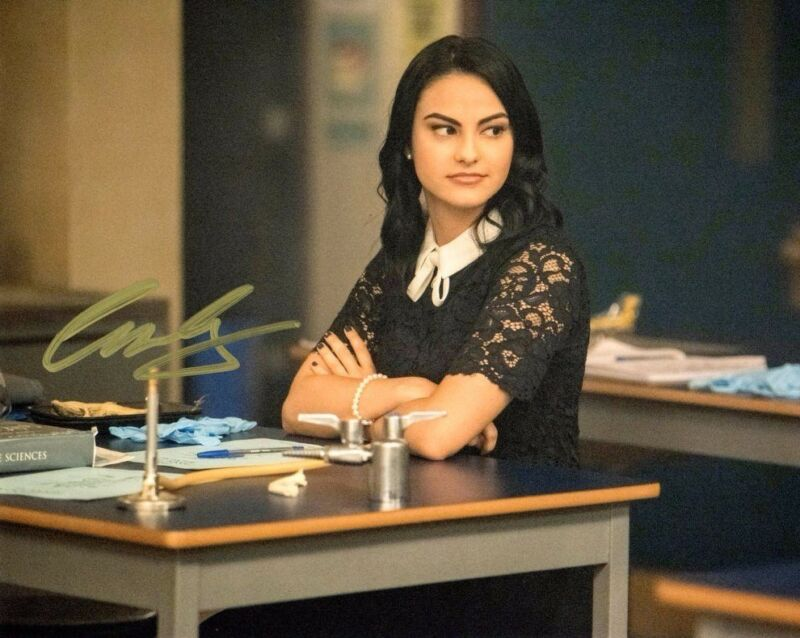 Camila Mendes  Riverdale Autographed Signed 8x10 Photo COA #12