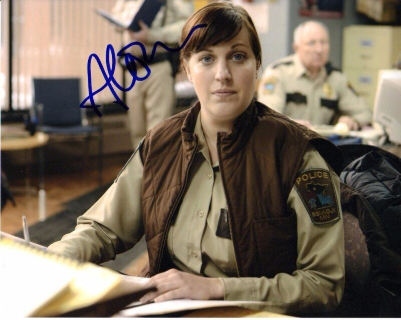 Allison Tolman Fargo Autographed Signed 8x10 Photo COA #4