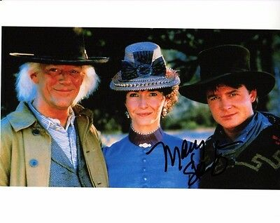 Mary Steenburgen Back To The Future Autographed Signed 8X10 Photo Coa  8