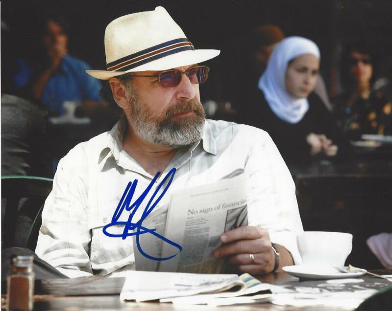 ACTOR MANDY PATINKIN SIGNED HOMELAND 8X10 PHOTO W/COA SAUL BERENSON A