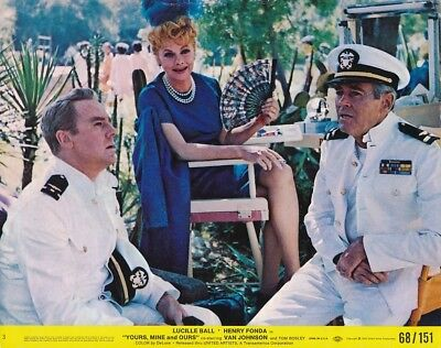 LUCY LUCILLE BALL HENRY FONDA Original CANDID Vintage YOURS MINE AND OURS