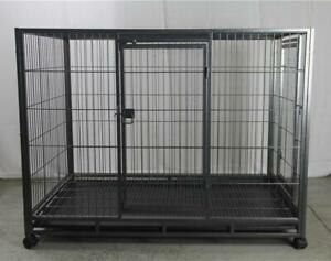 XL Pet Dog Cat Cage Metal Crate Kennel Portable Cat Rabbit House