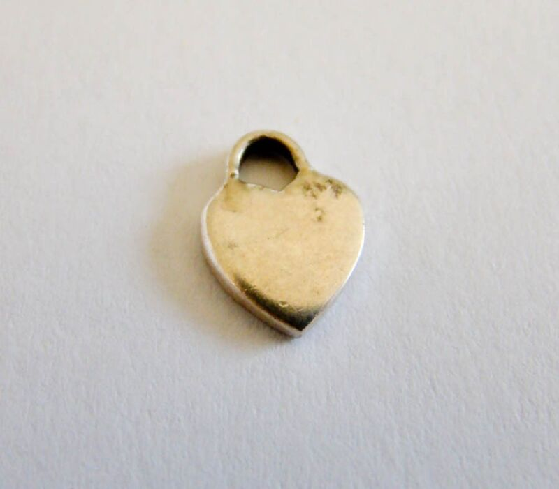 Sterling Silver Adorable Heart Charm