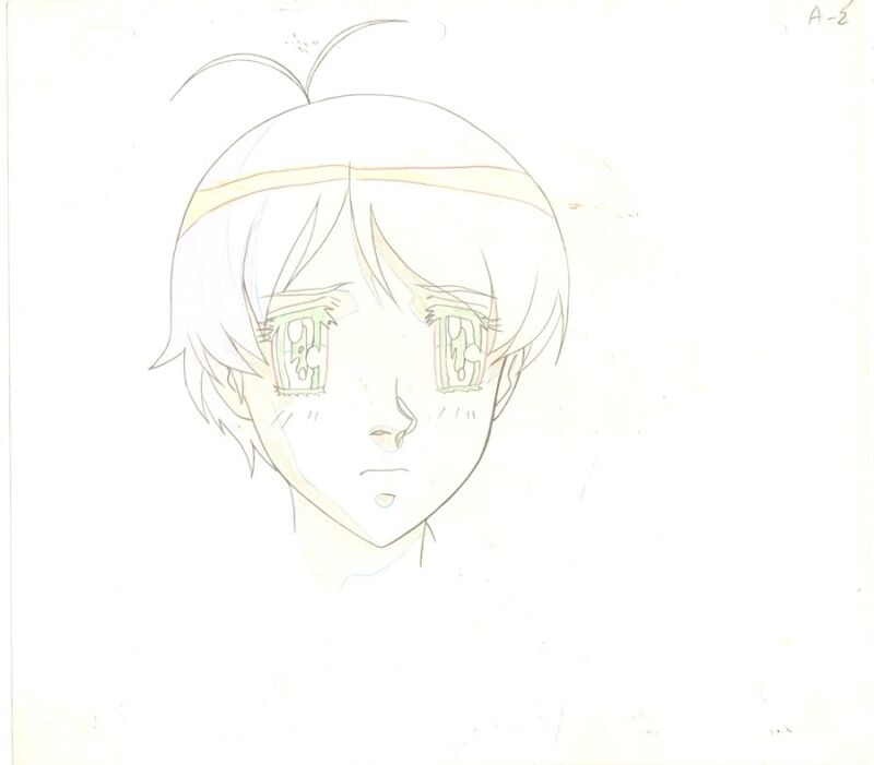 Anime Genga not Cel Escaflowne #57