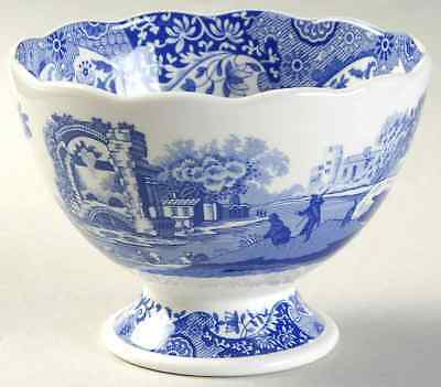 Spode BLUE ITALIAN Footed Bowl 9560826