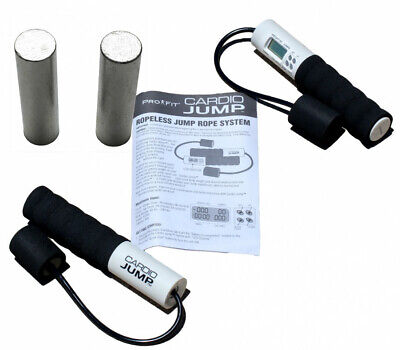 Jump Skipping Rope Leather Handle Adjustable 3 Metre Cable Fitness Cardio Skip