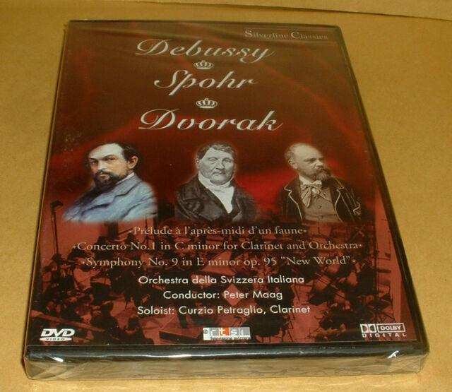 DEBUSSY--SPOHR--DVORAK--- DVD  BRAND NEW SEALED