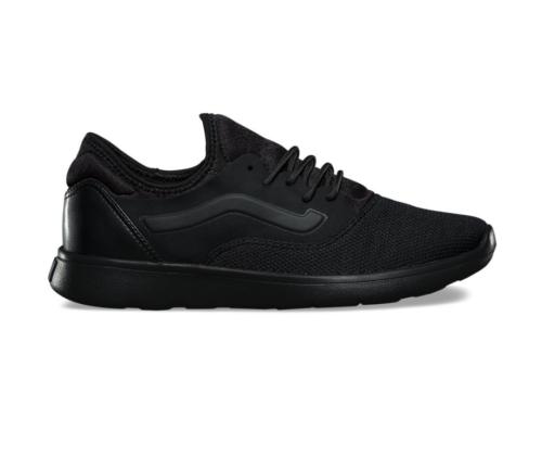 Vans Iso Route Staple Black/Black Men's Classic Skate Shoes