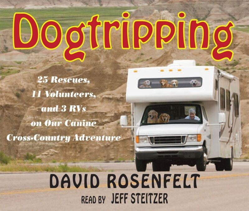 Dogtripping 6-CD Unabridged Audiobook - David Rosenfelt - NEW - FREE SHIPPING
