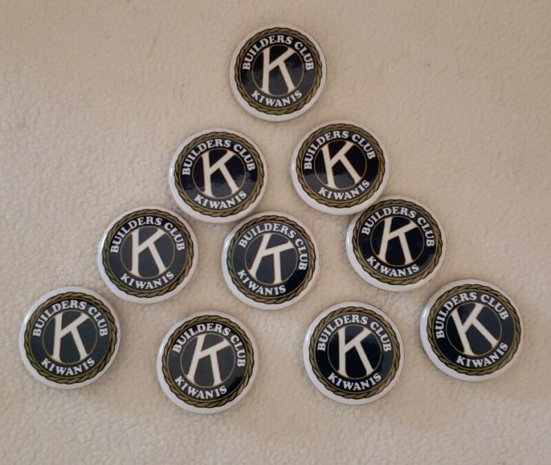 Kiwanis Builders Club Bar Pin Style New - Pack of 10 - Brand NEW