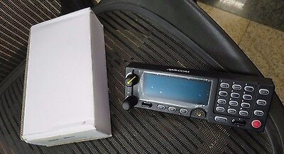 New Macom Harris Ma-com M7300 Mobile Radio Control Head Unit W Mic Included