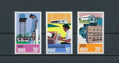 Niue  189-91 MNH, Technical Achievements, 1976