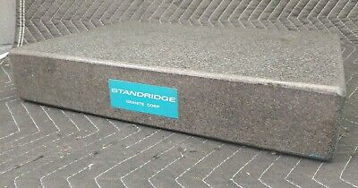 Standridge Black Granite Surface Inspection Plate 18 X 12 X 3