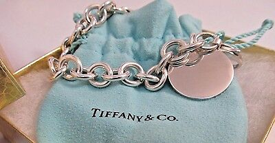 Tiffany & Co. Anchor Link Bracelet - Sterling Silver - 7