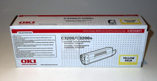 OKI Toner Cartridge Yellow, 43034805, für C3200/C3200n