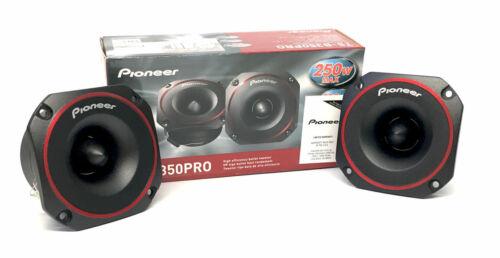 """Pioneer Pair 3.5"""" PRO Series Bullet Tweeters 500 Watts Peak TSB350PRO NEW"""