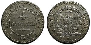 Seconda-Repubblica-Romana-4-Baiocchi-1849-Bologna
