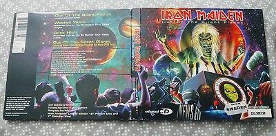 Iron Maiden CD Out Of The Silent Planet IMPORT Virgin COMPLETE with POSTER 51292, usado comprar usado  Enviando para Brazil