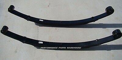 """FRONT LEAF SPRINGS 99-04 FORD F250 F350 2"""" LEVELING LIFT 4x4 - EXCURSION 4"""""""